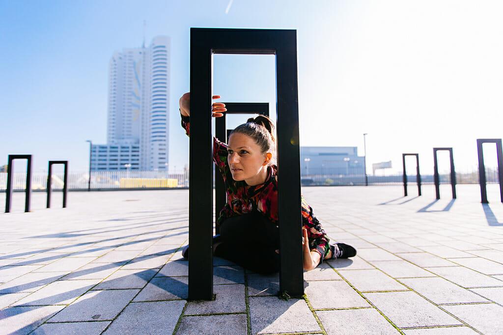 Tina Rauter, Tänzerin und Choreografin - Künstlerin Projekt Zukunft.TRÄUMEN - Foto: Karin Cheng