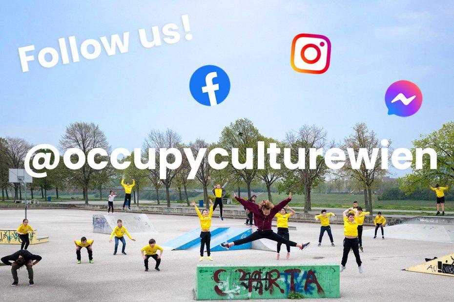 Folge uns auf Facebook und Instagram