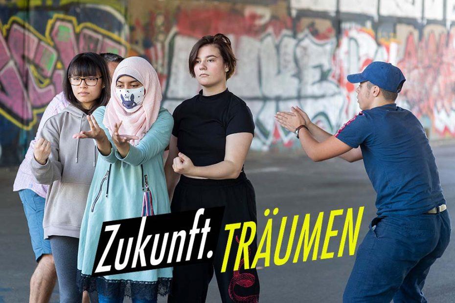 Zukunft.TRÄUMEN - Partizipatives Projekt von Occupy Culture mit Wiener Jugendlichen