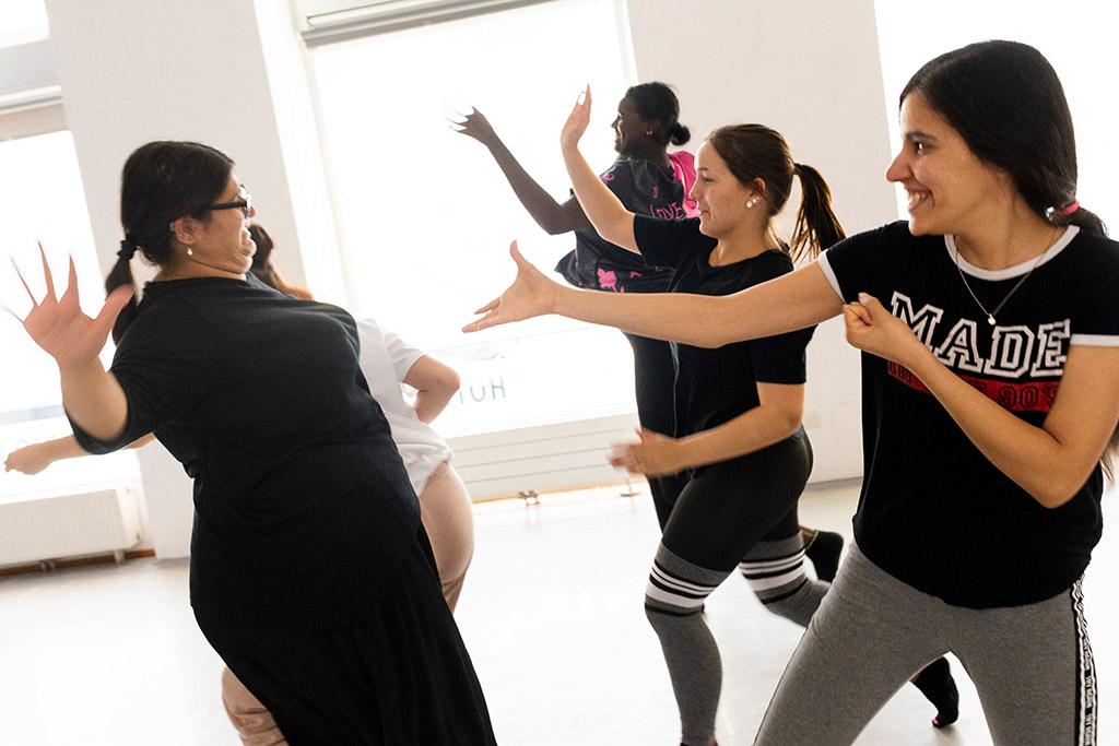 Tanz- und Musikworkshop mit Beteiligten von Equalizent